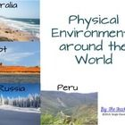 Powerpoint and photo sort to help students explain how people interact with their physical environment in different places around the world.