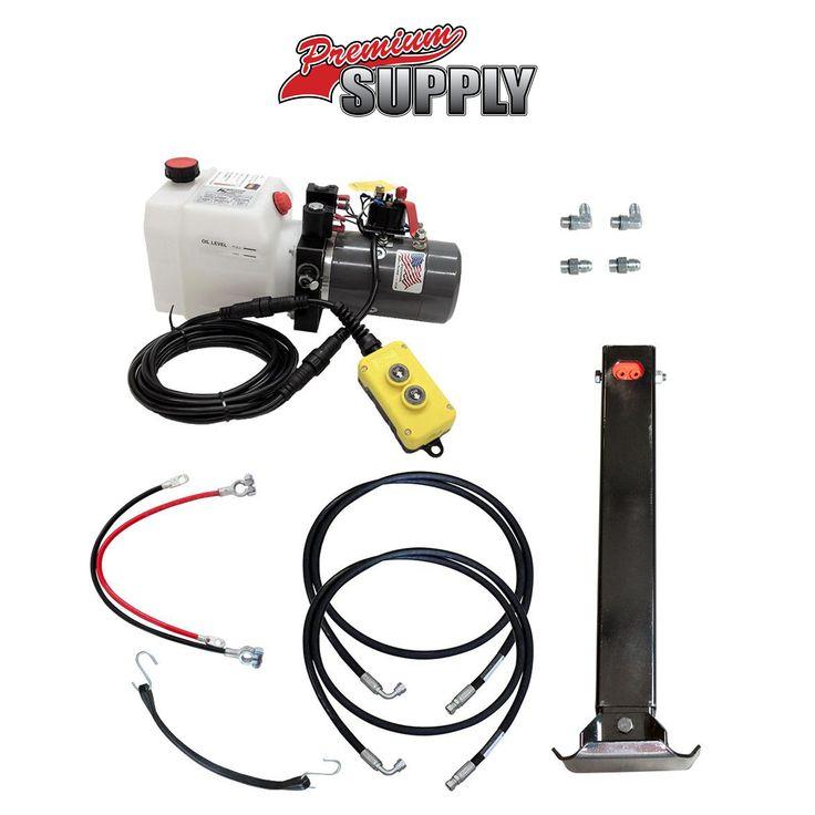 Premium Supply | Single Hydraulic Trailer Jack Kit - Johnson Trailer Parts