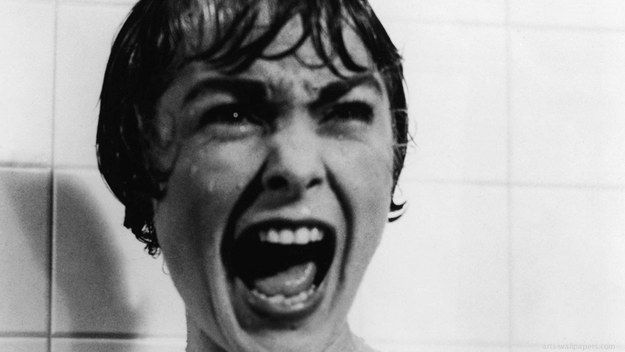 Psycho (1960)   12 Best Bath/Shower Scenes From Movies