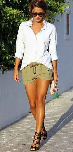 LOVIN this casual summer outfit..especially the shoes!!!! ღ❤ღ
