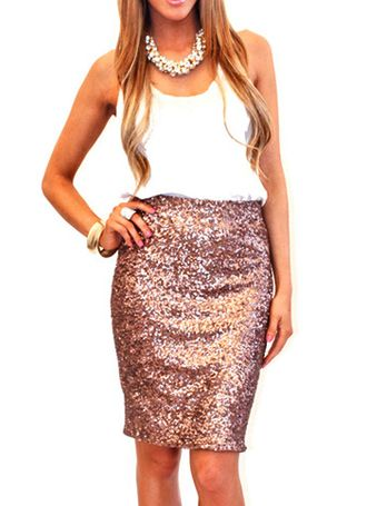 17 Best ideas about Long Sequin Skirt on Pinterest | Sequin skirt ...