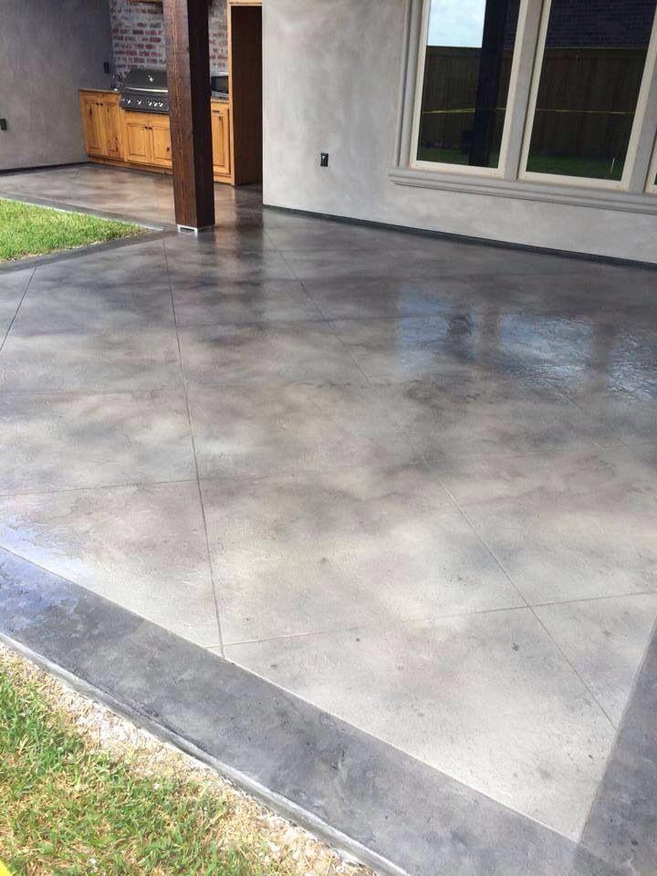 Concrete Revolution 337 256 3586 Concrete Stain Patio