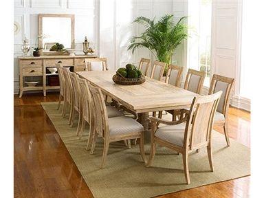 Elite Furniture Gallery NC Braxton Culler Rectangular Dining Table 2928 E76 Elitefurnituregallery