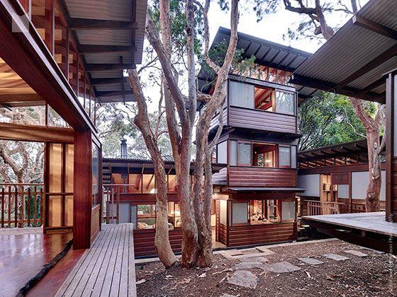 日本の古民家風のデザイン…レトロな和モダンハウス in オーストラリア | VIP WORKS