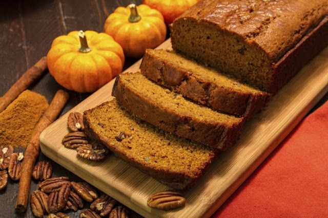 Visit our blog and get a delicious #Pumpkin #bread #recipe