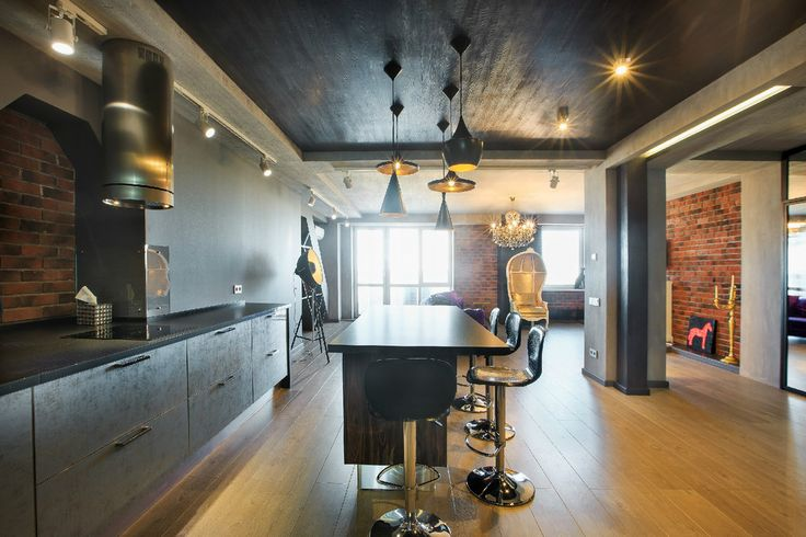 BACKSTAGE - Кухня: рабочее пространство | PINWIN  Потолок!