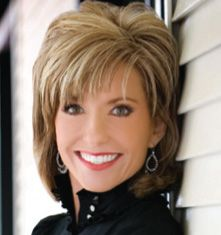 Beth Moore -- overcame childhood molestation and now encourages women through deeply insightful Bible studies.  Am amazing woman.