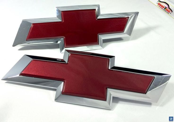 Chevy Silverado Bowtie Emblem Billet Insert Replacement
