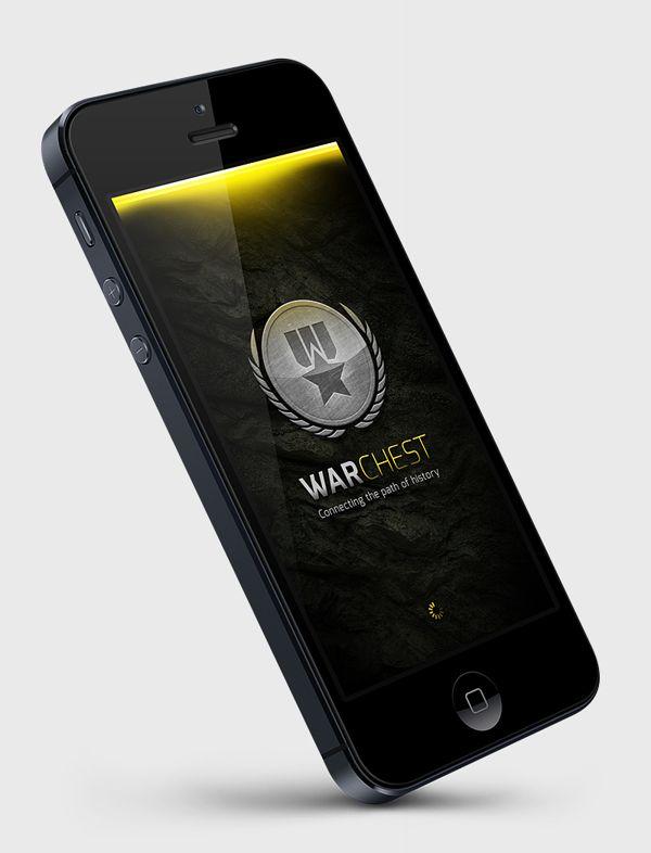 WarChest  Study by Martin Schurdak, via Behance Mobile App Design