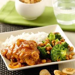 Ajam Bali met broccoli en pittige pinda's @ allrecipes.nl