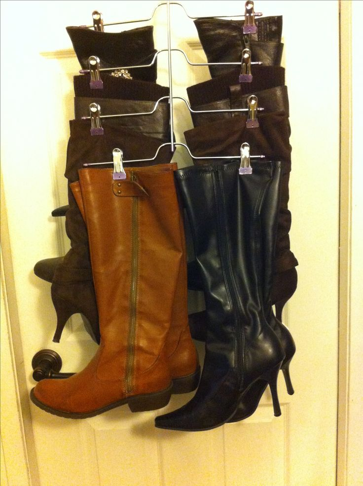 How To Store Your Boots Boot Storage Boot Organization
