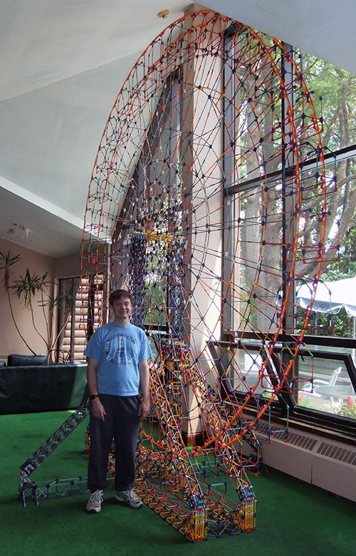 largest k'nex roller coaster - Google Search