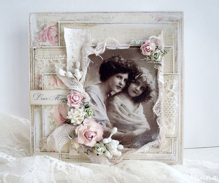 For mother cards pion designs blog deco art for Chic vintage
