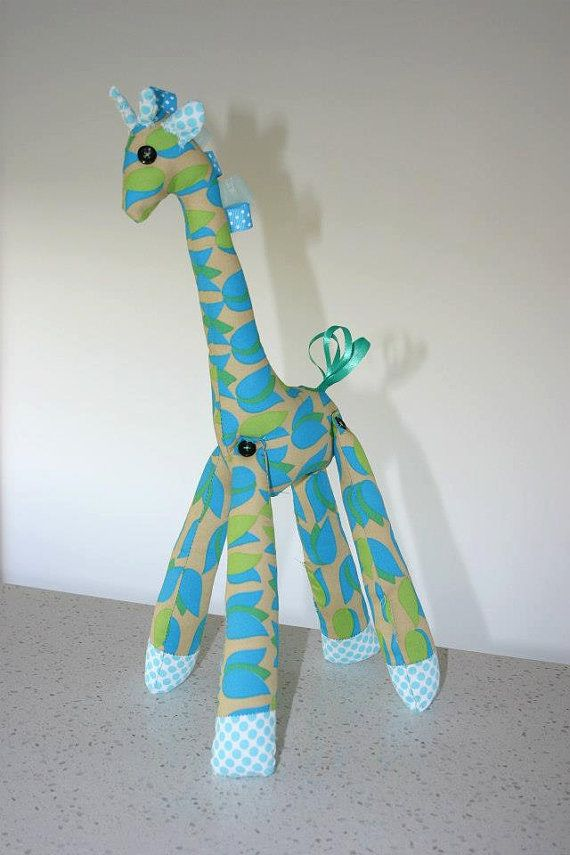 Sweet Giraffe soft toy for babies and children by SharedLove, $35.00
