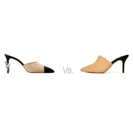 Chanel vs. Zara