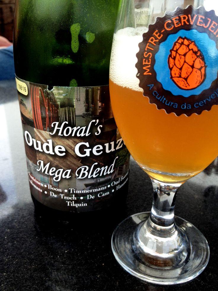 Horal's Oude Geuze Mega Blend (7% / Gueuze Lambic / Lembeek - Bélgica) #cerveja #beer
