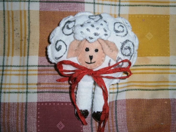 Lia B. Creations: Felt Sheep