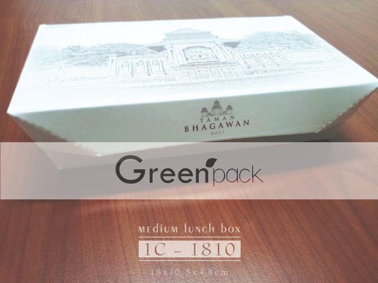 Jasa Pembuatan Box Makanan Food Grade, Gambar di atas merupakan Box Makanan Taman Beghawan menggunakan Box Makanan Greenpack. Info Pembuatan dapat mengunjungi link berikut ini : www.greenpack.co.id