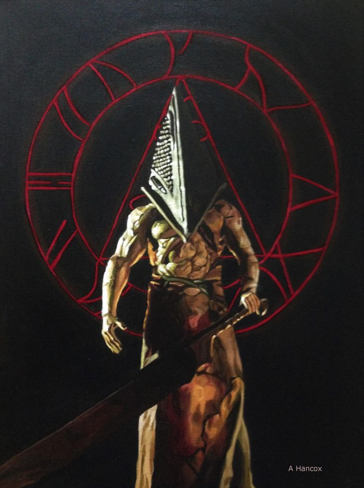 I painted Pyramid Head from Silent Hill in acrylic. http://ift.tt/2haxn4m