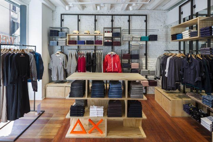 Sun68 stores by c p architetti mantova and udine italy - Interior design udine ...
