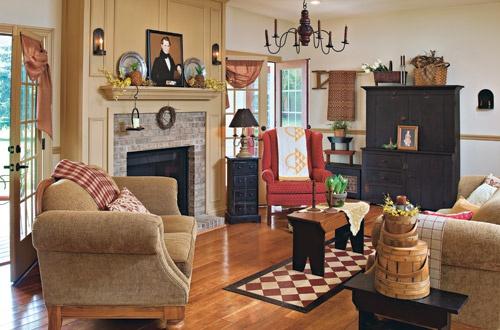 100 Best Images About Primitive Living Rooms On Pinterest
