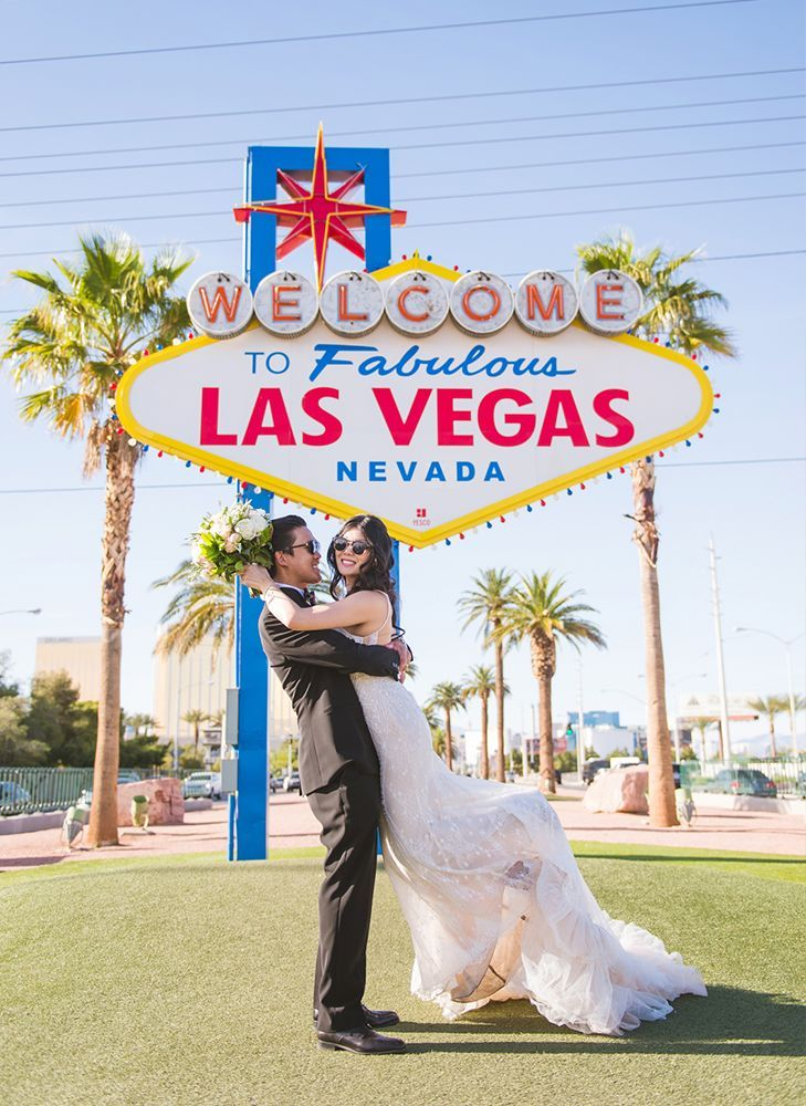9 Unique Wedding Photo Ops You Can Only Find In Las Vegas A View