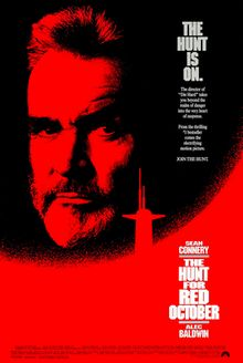 The Hunt for Red October - 1990   (Theme: political thriller)