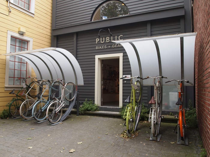 25 best ideas about bike parking on pinterest bike parking rack urban furniture and street. Black Bedroom Furniture Sets. Home Design Ideas