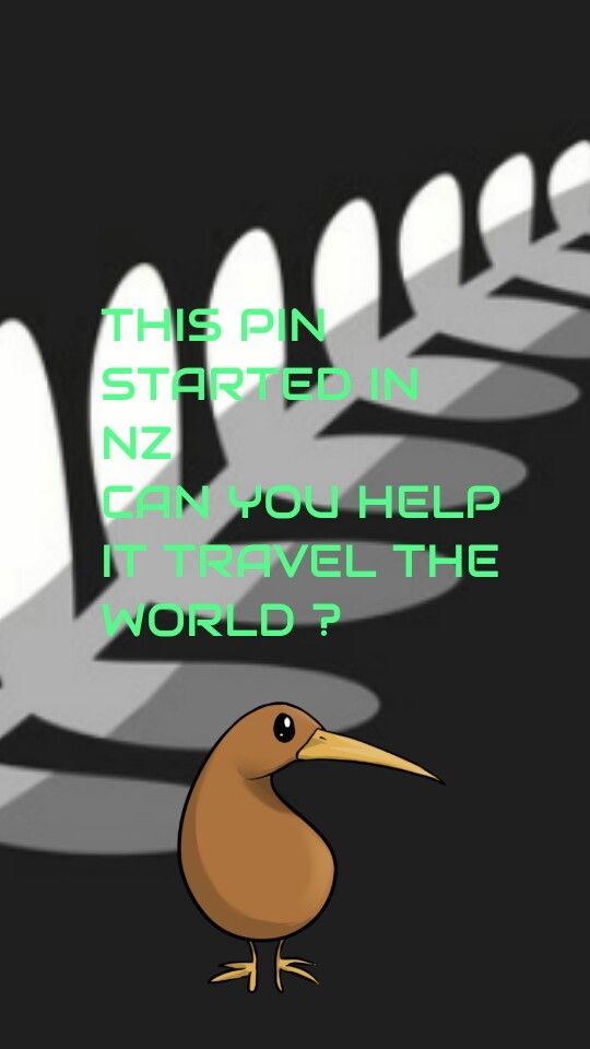 Help this NZ pin travel the world!