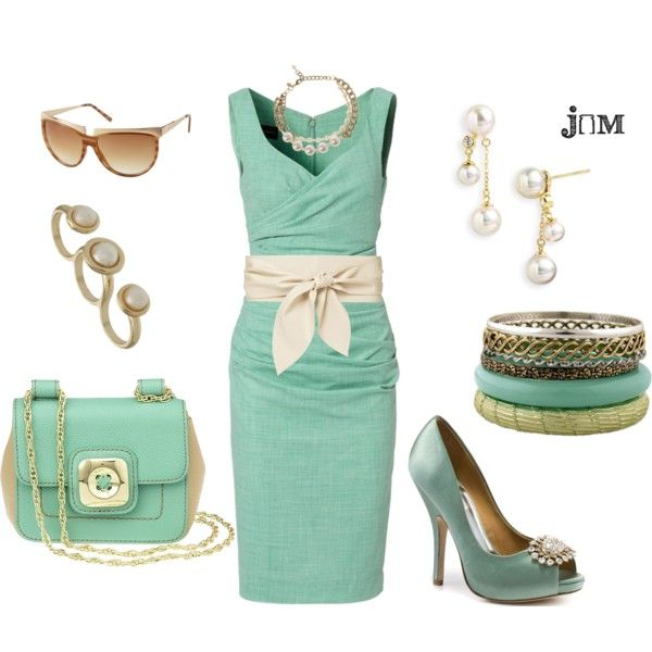 Mint green, so pretty