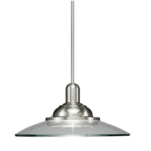 shop allen roth 18 brushed nickel pendant light with clear shade at loweu0027s canada find our selection of mini pendant lights at the lowest price