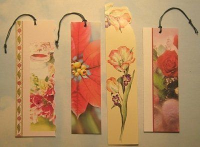 I grew up with my mother recycling things out of necessity.  Now, many years later, it is not only out of necessity to save money, but also to help the environment.  I collect up old greeting cards and make lovely bookmarks to give out to friends at Christmas time.