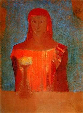 Lady Macbeth - Odilon Redon - 1898