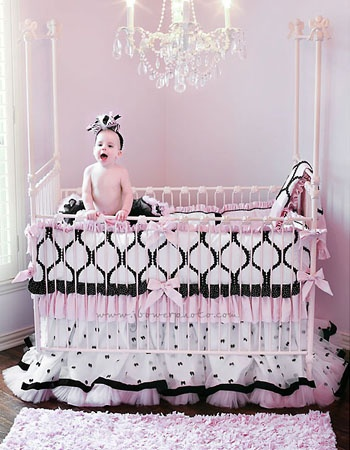 Precious Bedding for a little girls room