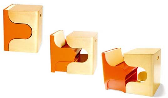 The Klick Puzzle Chair