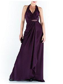 Terencia Halter Neck Maxi Dress