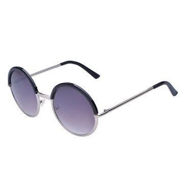 HONEY Trendy Damen Polarisierte Sonnenbrille - Full UV 400 Schutz - 4 Farben erhältlich - Vintage Circular Metal Legs ( Farbe : 4 ) w9CYgxs
