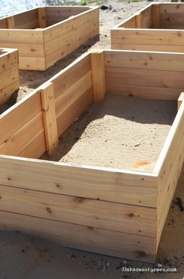 Easy Diy Raised Garden Bed Tutorial Gardens Follow Me