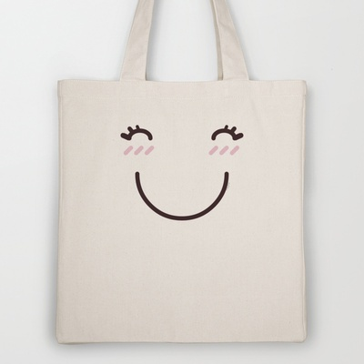 Miss Happy Tote Bag by Playmoji ® - $18.00