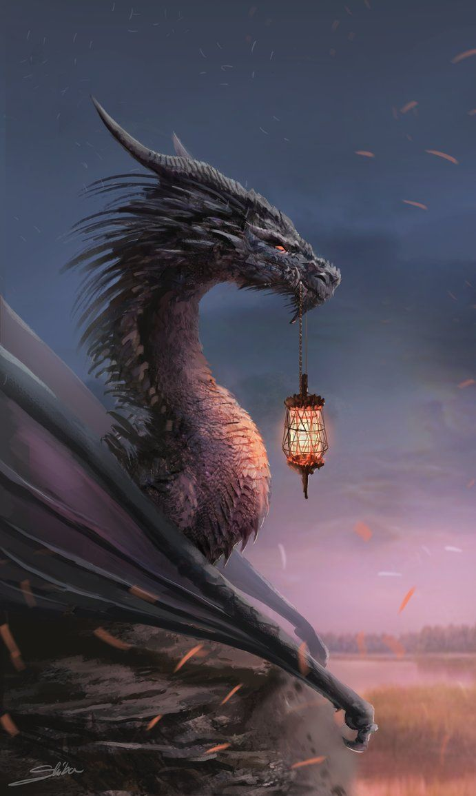 Tags: Fantasy art, dragon MZLowe Author verified link on 10/30/2017 Source: Skyrawathi@deviantART.com Artist: Aleksandra Skiba Title: Ligh carrier