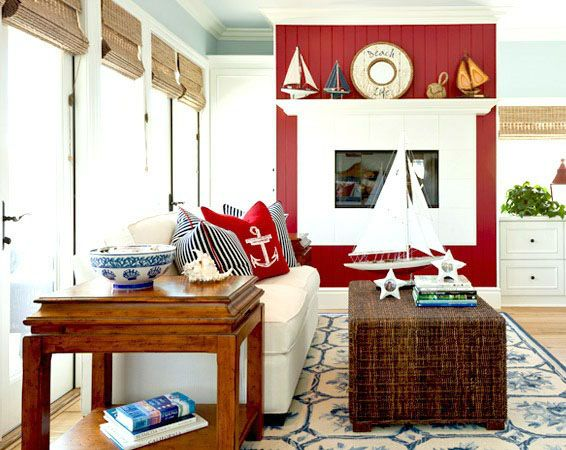 Warm And Cool Colors For Coastal Living Rooms