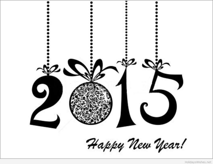 2015 Homemade New Year Greeting Cards Templates. More at - http://goo.gl/TlzeBv