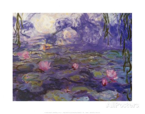 Nympheas Posters by Claude Monet at AllPosters.com