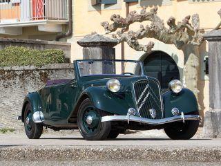 Citroen Traction Avant 15 CV Roadster – 1939
