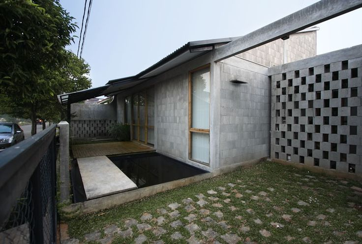 Built by SUB. Studio for visionary design in Jakarta Capital Region, Indonesia with date 2008. Images by Muhammad Sagitha. In our perspective, we see ourselves as a partner for client. And the moderate client for this house allows us to exp...