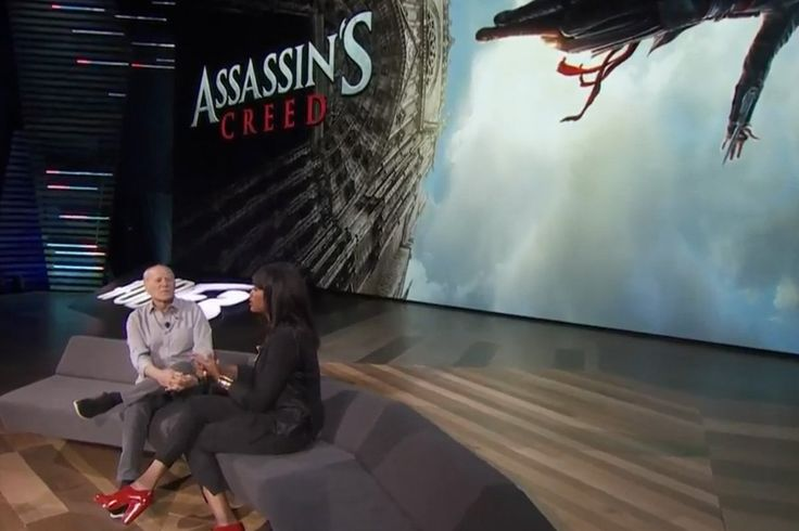 Assassin's Creed is only at E3 2016 in movie form: Ubisoft dragged producer Frank Marshall (Indiana Jones, Back to the Future, Jurassic…