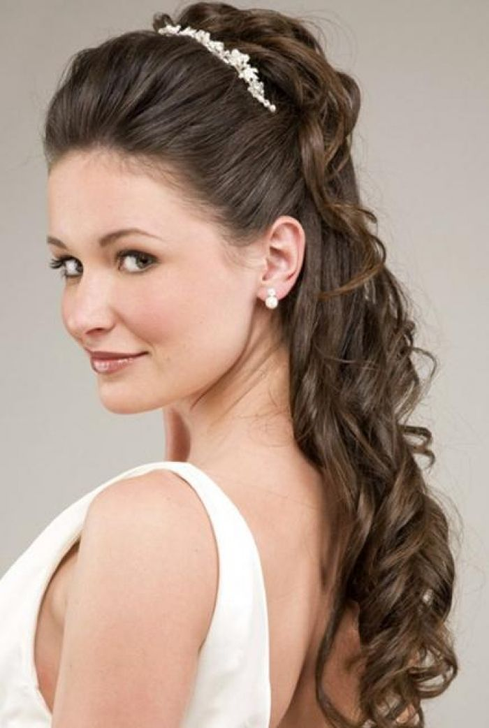 Outstanding 1000 Images About Bridal Hair Styles On Pinterest Bridal Short Hairstyles Gunalazisus