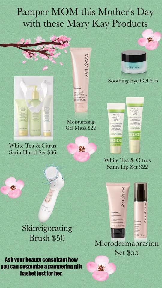 Great Mother's Day gifts www.marykay.com/cabfranklin87
