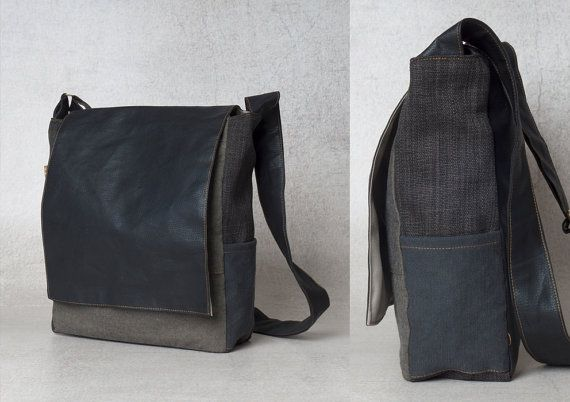 black mens work bag canvas work bag ultimate work bag by Badimyon