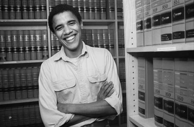 Barack Obama at Harvard Law School #inspiration